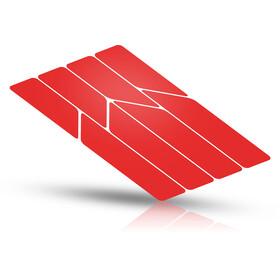 Riesel Design re:flex frame Reflektierende Aufkleber rot